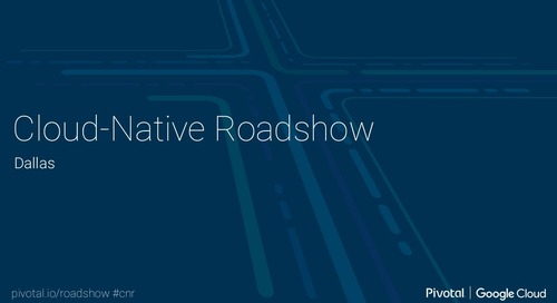 Cloud-Native Roadshow - Landscape - Dallas