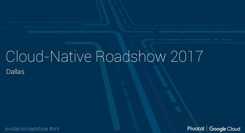 Cloud-Native Roadshow - Microservices - Dallas