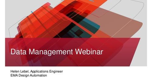 PCB Data Management Webinar