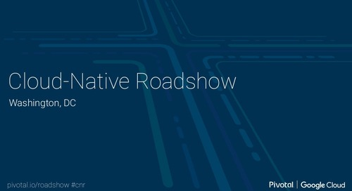 Cloud-Native Roadshow - Landscape - DC