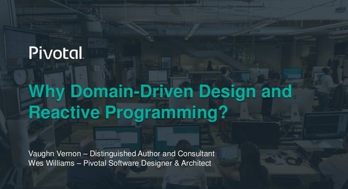 Why Domain-Driven Design and Reactive Programming?