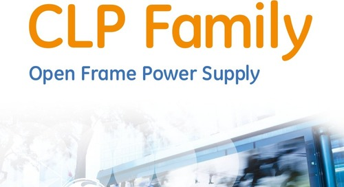 6 Reasons To Love The New CLP Family: Open Frame Power Supply