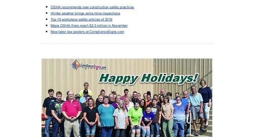 December 2016 Connection Newsletter