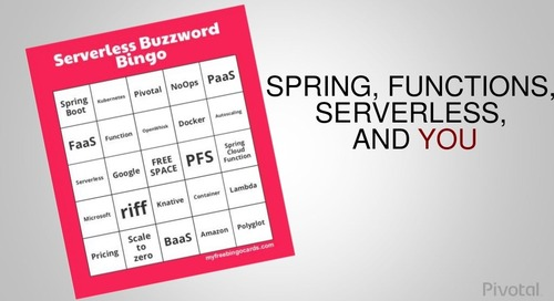 Spring, Functions, Serverless and You- Michael Minella