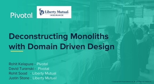 Deconstructing Monoliths with Domain Driven Design
