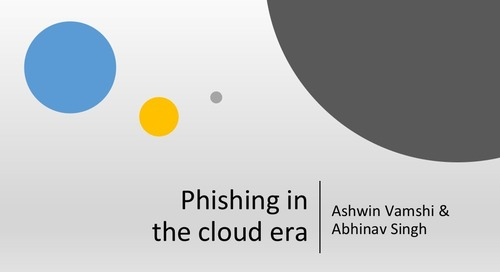 DEF CON 27 - Phishing in the Cloud Era