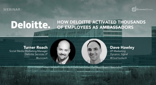 How Deloitte Activated Thousands of Employees As Ambassadors