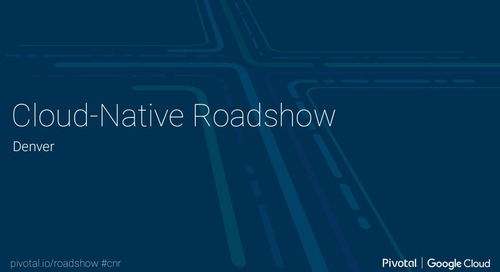 Cloud-Native Roadshow - Landscape - Denver