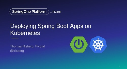 Deploying Spring Boot apps on Kubernetes