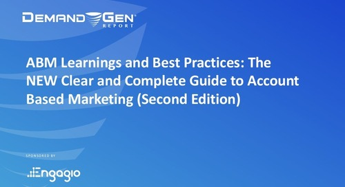 [Best Practices Webinar] The NEW Clear and Complete Guide to ABM (2nd Edition) |