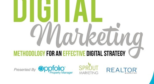 Digital Marketing Strategies - AppFolio/Sprout Marketing Webinar
