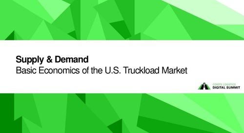 SlideShare: Basic Economics of the Truckload Market
