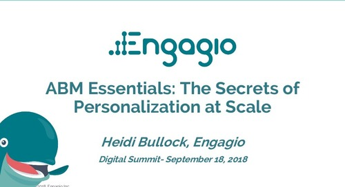 ABM Essentials: The Secrets of Personalization at Scale | Slides