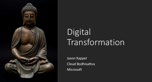 Microsoft: Digital Transformation Slides