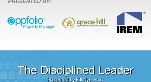 The Disciplined Leader (Property Management Industry)