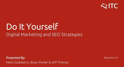 DIY Digital Marketing and SEO Strategies - Mark Goldsberry, Bryan Parker & Jeff Thomas