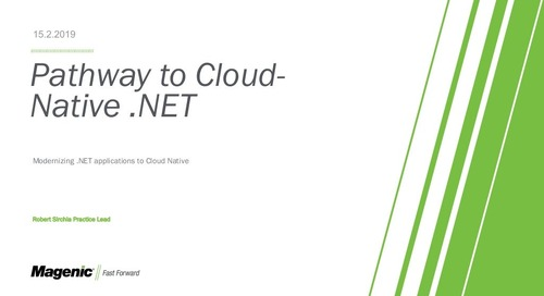 Pathway to Cloud-Native .NET