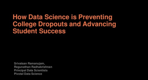 How Data Science is Preventing College Dropouts and Advancing Student Success