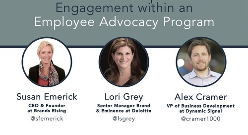How to Drive Adoption and Engagement within an Employee Advocacy Program