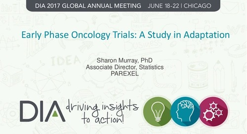 Early Phase Oncology Trials: A Study in Adaptation