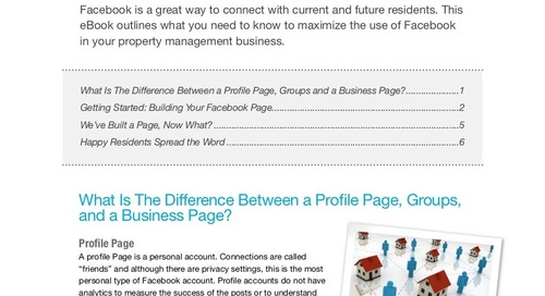 Facebook for Property Managers: How-To Guide (eBook)