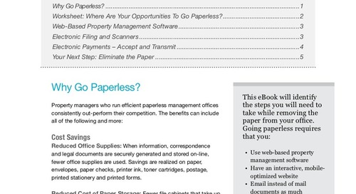 Running  a Paperless Office (eBook)