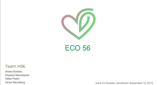Eco 56 & AWS Open Data