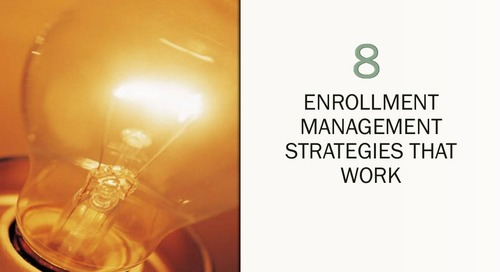 Eight Enrollment Management Strategies that Work