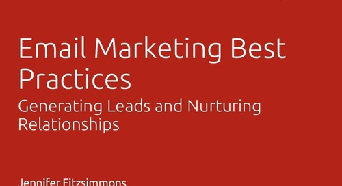 Email Marketing Best Practices - Jennifer Fitzsimmons, ITC