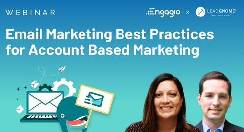 [Webinar] Email Marketing Best Practices for Account Based Marketing | Slides