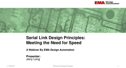 Serial Link Design - Meeting the Need for Speed