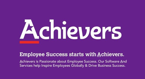 Employee Success starts with Achievers