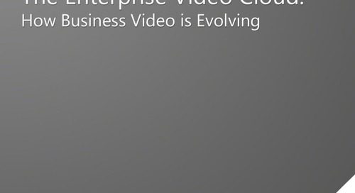 Evolution of Business Video