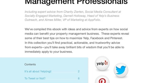 Expert Advice: Social Media Secrets for Property Management Professionals