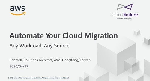 Accelerate your cloud migration