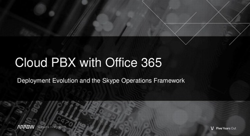 Cloud PBX with Office 365 Webinar Slides