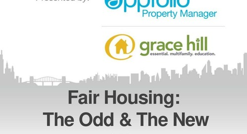 Fair Housing: The Odd & the New (Property Management Industry)