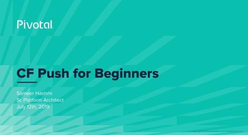 CF Push for Beginners