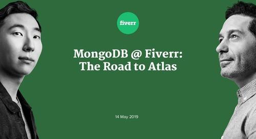 MongoDB @ Fiverr: The Road to Atlas