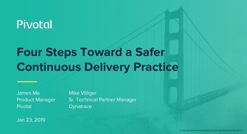 Four Steps Toward a Safer Continuous Delivery Practice (Hint: Add Monitoring)