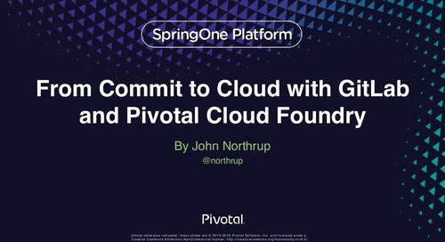 From Commit to Cloud w/ GitLab and PDF