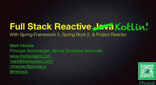 Full Stack Reactive Kotlin by Mark Heckler