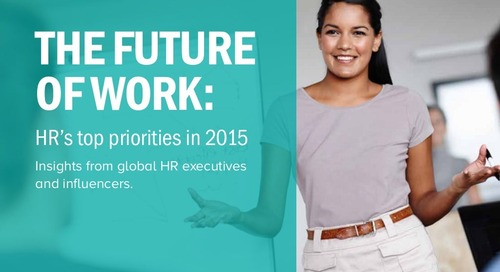 HR's Top Priorities in 2015 - Insights from global HR executives