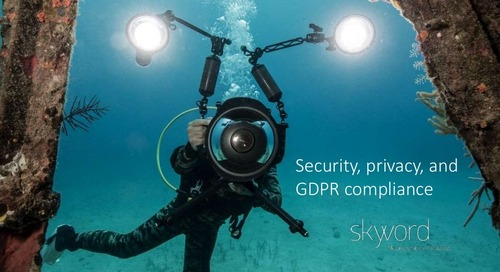 Inspiring Trust and Transparency: Skyword's Compliance with GDPR [Webinar Slides]