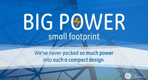 Introducing our Compact Low Power (CLP) Family (Big Power, Small Footprint)