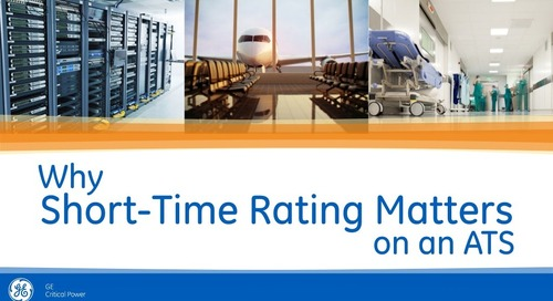 Why Short-Time Rating Matters on an Automatic Transfer Switch (ATS)