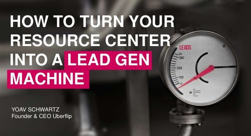 How to Turn Your Resource Center into a Lead Gen Machine