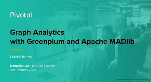 Graph Analytics with Greenplum and Apache MADlib
