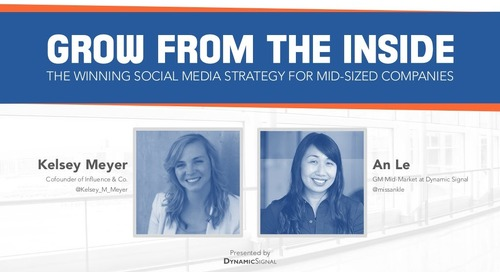 Grow from the inside the winning social media strategy for mid sized companies