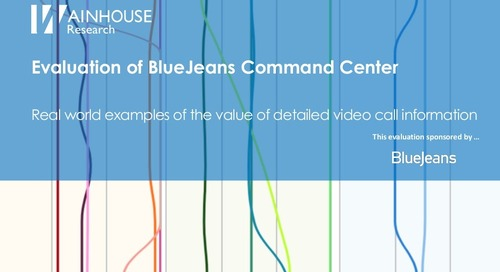 Evaluation of BlueJeans Command Center by Wainhouse Research